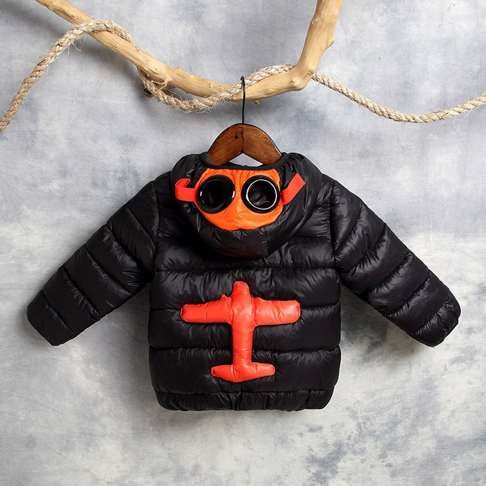 Boy/Girl Airplane Jacket (5 colors)