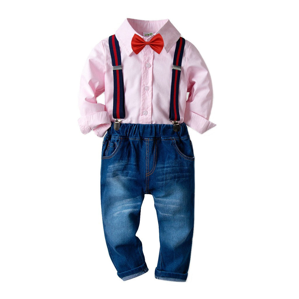 Stylish Jean Boys Outfit Set
