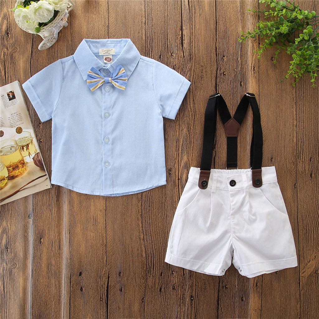 Unique Summer Boys Outfit Set