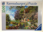 Ravensburger Country Cottage 1500 piece puzzle