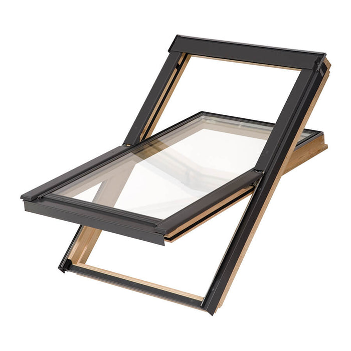 Nito Pine Skylight Windows with Tile Flashing - MSS Timber