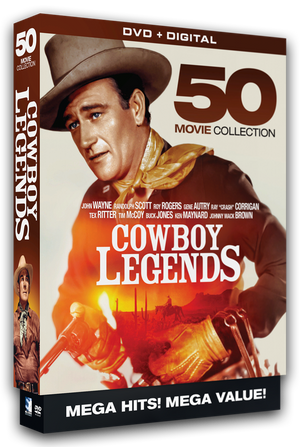 Cowboy Legends - 50 Movie MegaPack