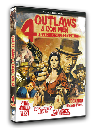 Available on DVD, this 4 pack includes movies starring Glenn Saxon, Fernando Sancho, Jeff Cameron, Lee Van Cleef, James Mason and Jack Palance to name a few.