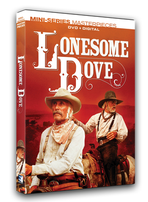 The original mini-series event! This classic western masterpiece is available on DVD+Digital and stars Robert Duvall,, Tommy Lee Joney, Danny Glover, Steve Buscemi, D.B. Sweeney and Chris Cooper.
