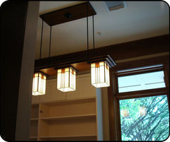 Bungalow Chandelier in Pantry
