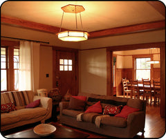 Bungalow With Craftsman Style Lighting