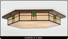 Contemporary Craftsman Ceiling Light #207