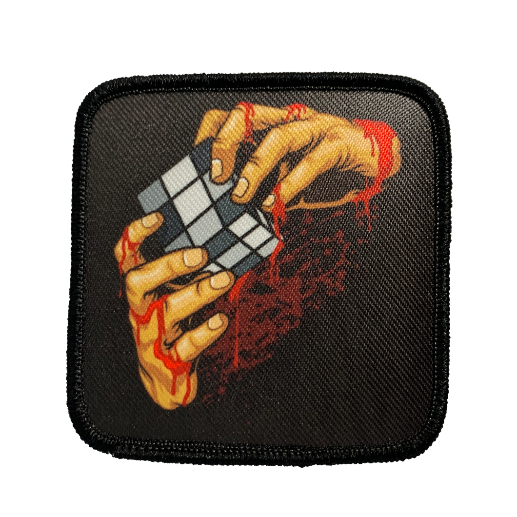 Rubiks Patch - 1234Clothing