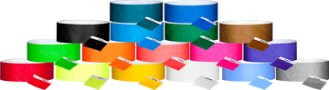 "Tyvek® 1"" Solid Colour Wristbands"