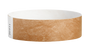 "A Tyvek®  3/4"" x 10"" Sheeted Solid Mocha wristband"