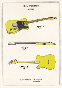 The Pattern Book Fender Telecaster