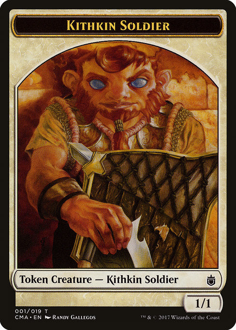 Kithkin Soldier [Commander Anthology Tokens]  | My Pop Culture | New Zealand