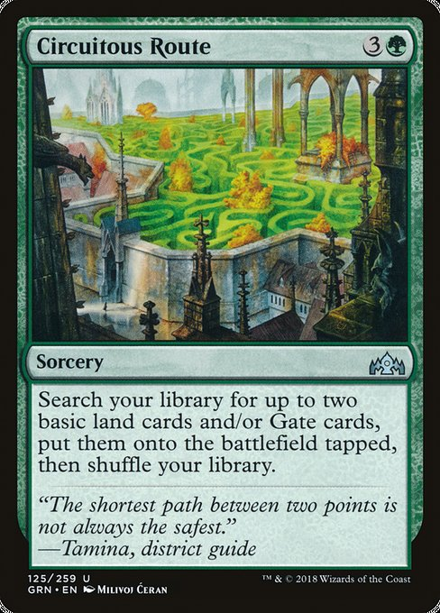 Circuitous Route [Guilds of Ravnica]  | My Pop Culture | New Zealand
