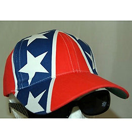 RF-905026 Rebel Confederate Flag Cap