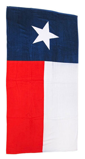 Texas Flag Beach Towel 034