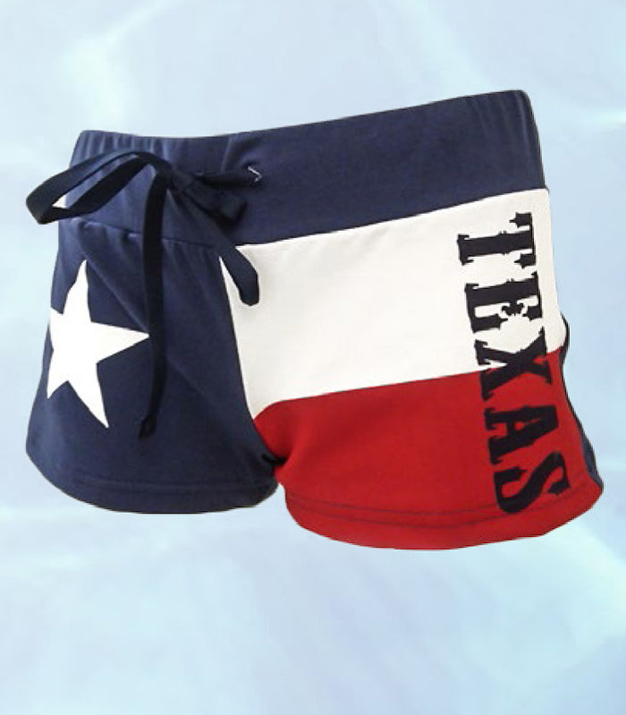 Texas Flag Booty Shorts