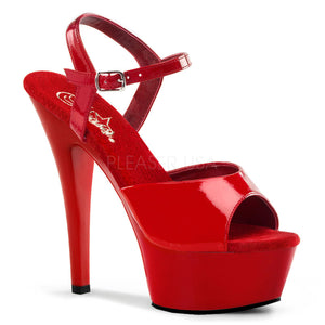 Platform sandal high heel shoes with 6-inch spike heels Kiss-209