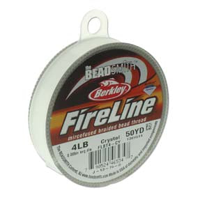 FL04CR50 - 4 Lb Fireline Crystal .005 In/.12mm Dia 50 Yrd | Pkg 1