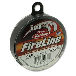 FL06CR50 - 6 Lb Fireline Crystal .006 In/.15mm Dia 50 Yrd | Pkg 1