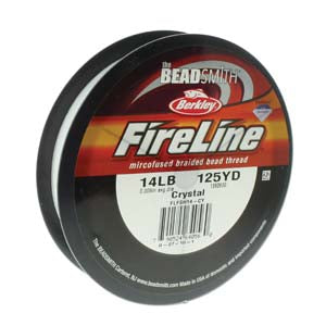 FL14CR125 - 14 Lb Fireline Crystal .009 In/.22mm Dia 125 Yrd | Pkg 1
