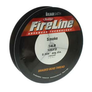 FL14SG125 - 14 Lb Fireline Smoke Grey .009 In/.22mm Dia 125 Yrd | Pkg 1