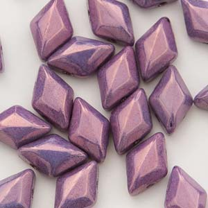 GD8503000-15726 - 8X5mm Gemduos, Chalk Vega Purple | 25 Grams
