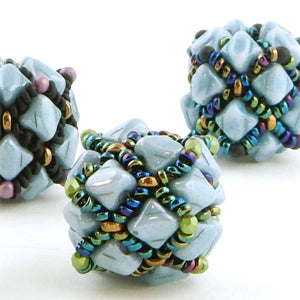 #PDF-355 - Argyle Beaded Bead Project by Sharri Moroshok