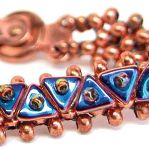 #PDF-178 - Tri Beads Bracelet Project by Linda L. Roberts