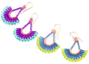 #PDF-265 - Tropical Wave Earrings Project