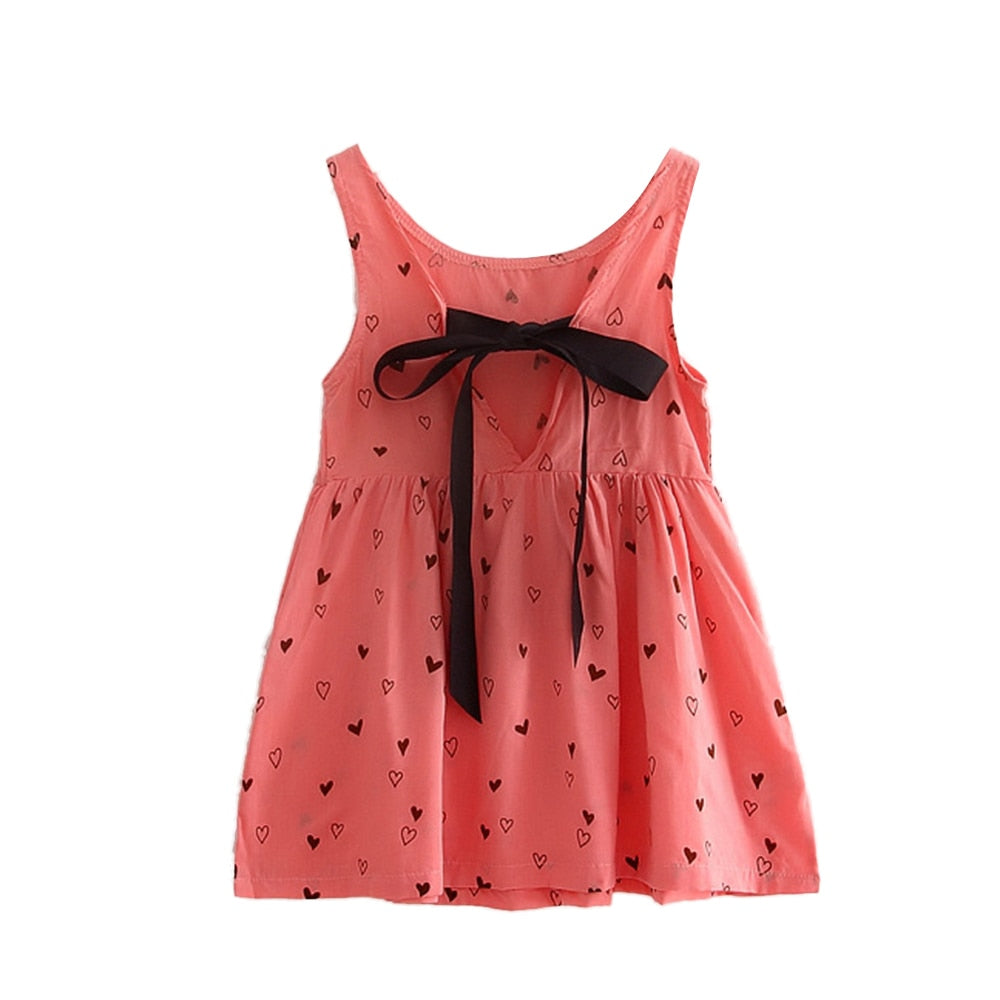 Heart Summer Cotton Dress