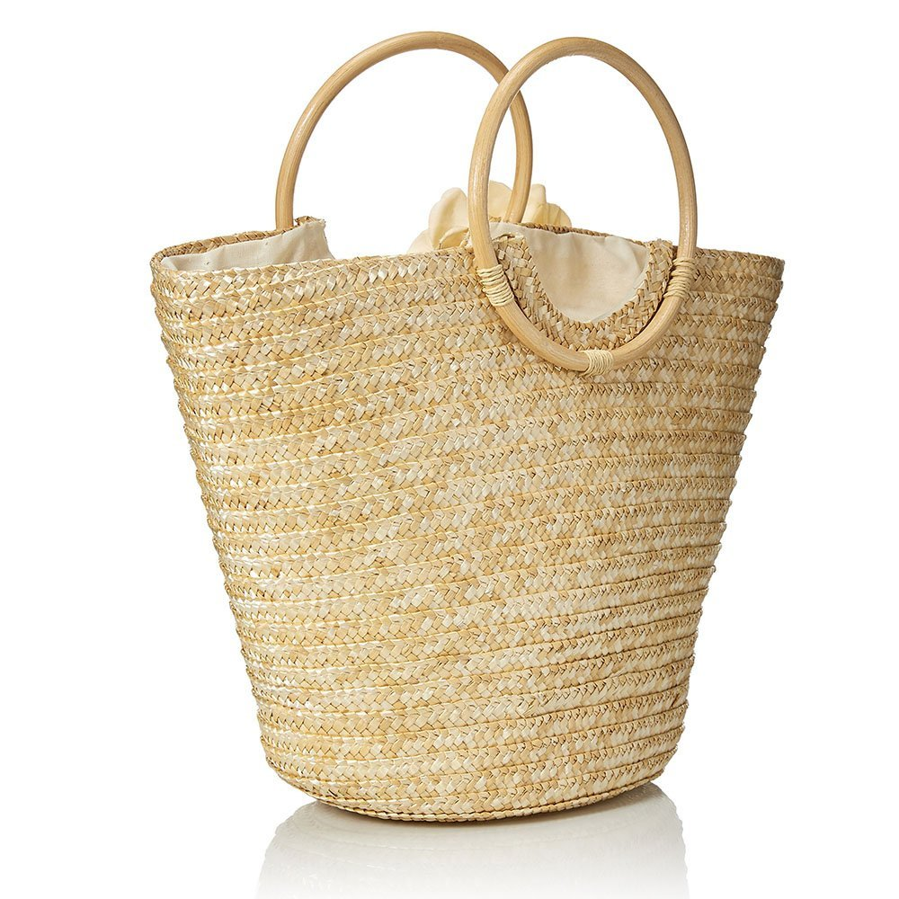 Flower Summer Beach Tote Bag