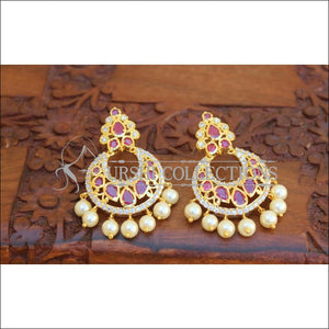 Designer CZ Earrings Set UC-NEW2132 - Earrings