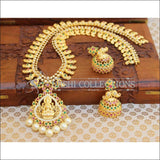 Designer Gold Plated Temple Necklace Set UC-NEW314 - Multi - Necklace Set