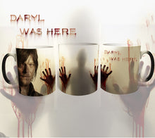 Load image into Gallery viewer, The Walking Dead color changing Daryl mug - Mug - TheGeekLeak.com