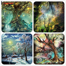 Load image into Gallery viewer, Magic Tree DIY Diamond Painting w/ Tools - Art - TheGeekLeak.com