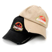 Load image into Gallery viewer, Jurassic Park Baseball Cap - Clothing - TheGeekLeak.com