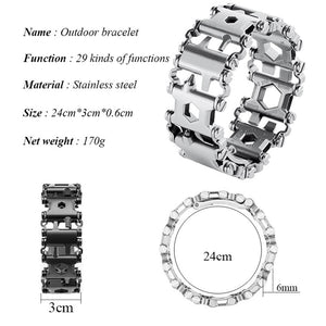 Outdoor Multifunctional  Field Survival Bracelet -  - TheGeekLeak.com