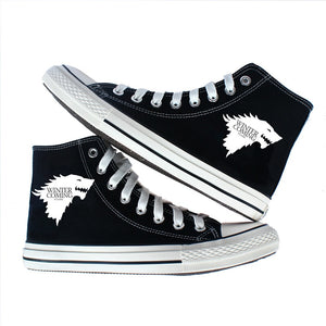 Game of Thrones - High Top Canvas Sneakers