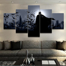 Load image into Gallery viewer, Batman - 5 Piece Canvas Oil Painting - Decor - TheGeekLeak.com