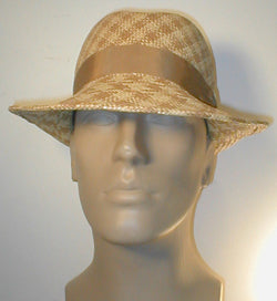 Center Crease Fedora with Grosgrain Band and Buckle