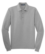 Long Sleeve Silk Touch Polo Shirt