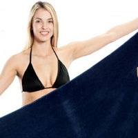 Heavyweight Jumbo Velour Beach Towel