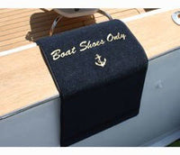 Personalized Gunwale Boarding Mat - SMALL