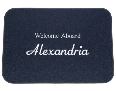 Personalized Boat Mat - SMALL 12