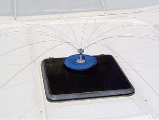 Universal Mounting Base for Bird Deterrent