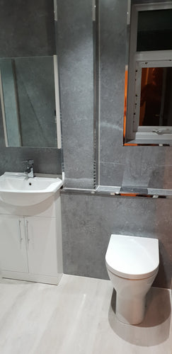 Modern Bathroom Suite With Disability Aids