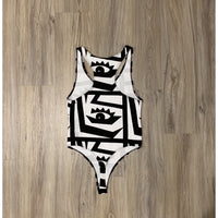 EYEZ ON YOU RACER-BACK BODYSUIT