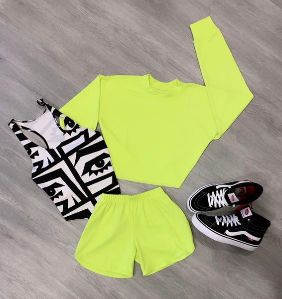 LIME BOXER SET