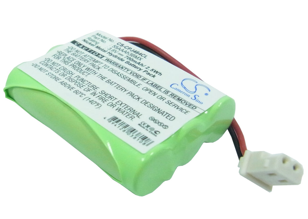 Battery for Casio PM38BAT, PMP3815, PMP-3815, PMP3850-PLUGIN, PMP3860, PMP-3860, PMP3875, PMP-3875