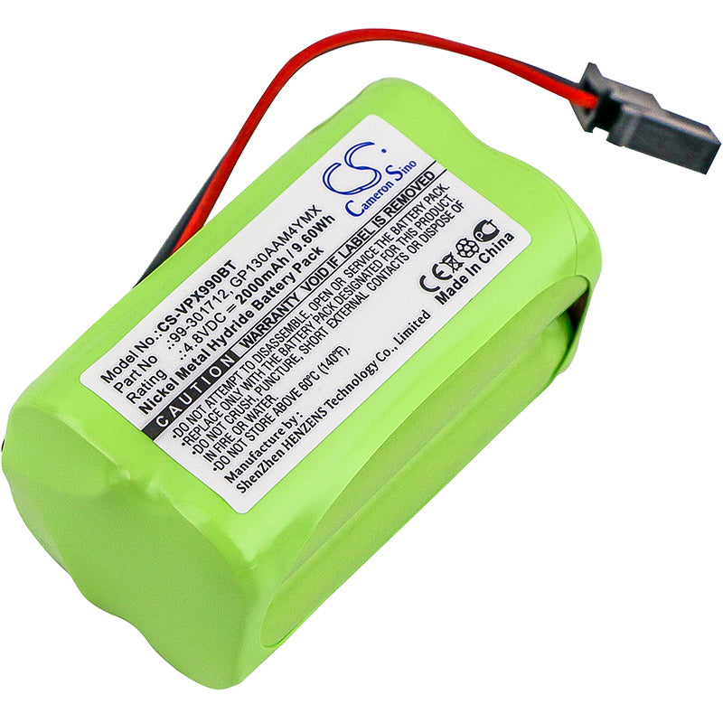 Battery for Visonic PowerMaster 10, Powermax Express, 99-301712, GP130AAM4YMX